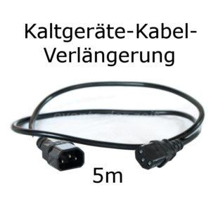 Kaltgeräte Verlängerung Kabel 5m Verleih Vermietung Harz
